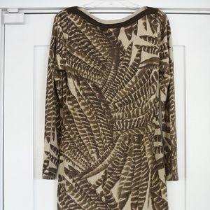 Ralph Lauren fern detail dress